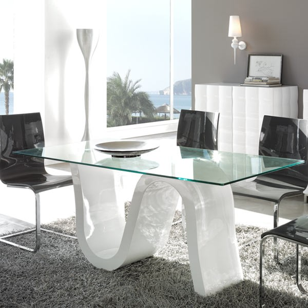 Beautiful Mesas De Comedor De Cristal Baratas Images - Casa & Diseño ...