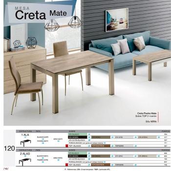 Mesa comedor  Creta Mate  120