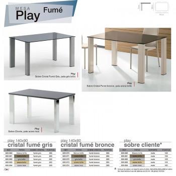 Mesa comedor  Play Fumé