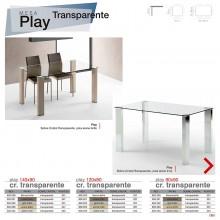 Mesa comedor  Play Transparente