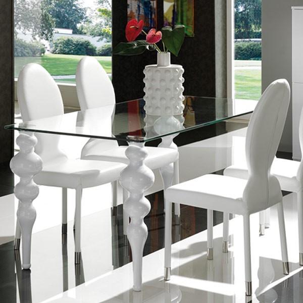 Sillas comedor blancas cheap sillas comedor madera for Sillas blancas comedor