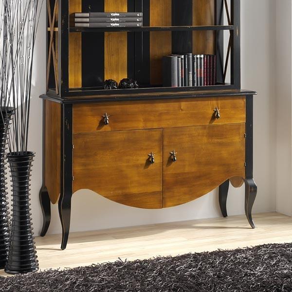 Mueble auxiliar carlotta 1c 2p for Mueble auxiliar salon