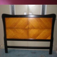 Cama Carlottta de 140x190 panel de cerezo.