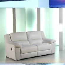 Sofa Dario blanco 210 cm.