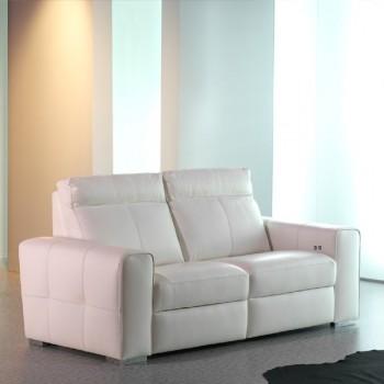 Sofa Vinci blanco 210 cm.