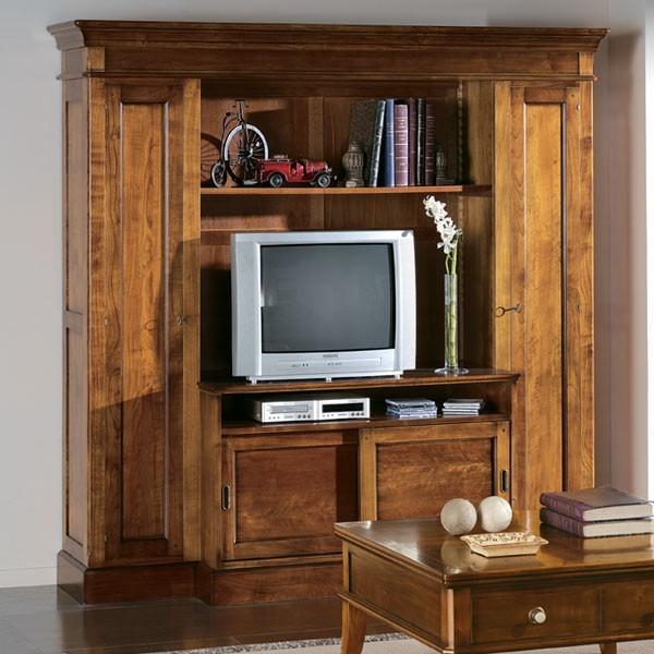 mueble television opera alto 4p