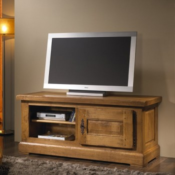 Mueble television 1 puerta Quercus
