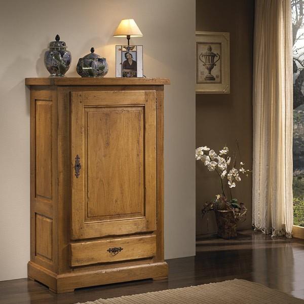 Armario peque o quercus 1 puerta 1 cajon - Armario de una puerta ...
