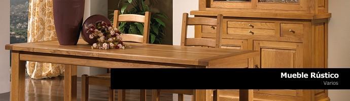 Compra online mueble r stico icono interiorismo for Outlet muebles rusticos